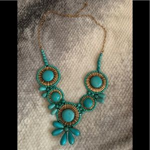 Buckle Statement Necklace